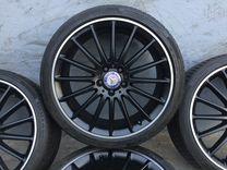 Кованые оригинальные диски на Mercedes CLA AMG R19