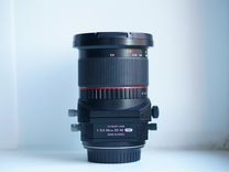 Samyang tilt-shift 24 mm F3.5 Canon, Sony E