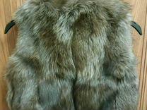 Меховая безрукавка (жилет)