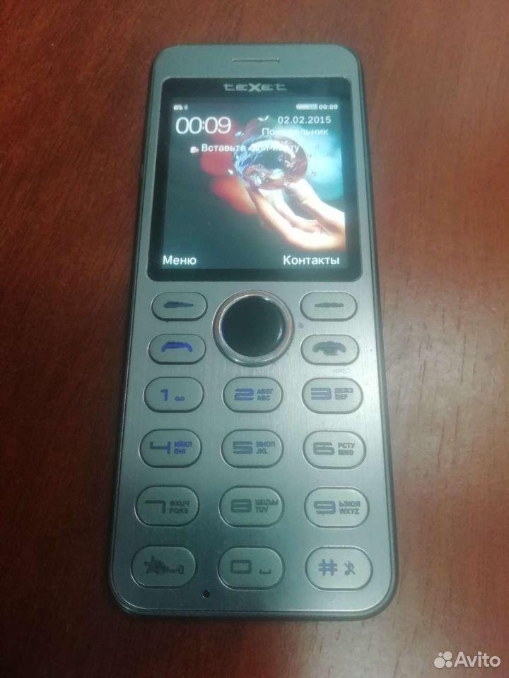 Телефон texet tm224