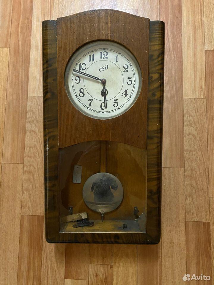 Часы настенные с маятником  89107506628 купить 2