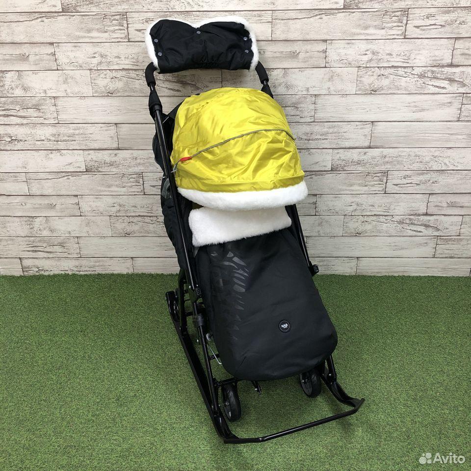 Санки-коляска Nika kids 7-5, цвета микс  89225759000 купить 4