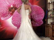 Платье свадебное. Силуэтное