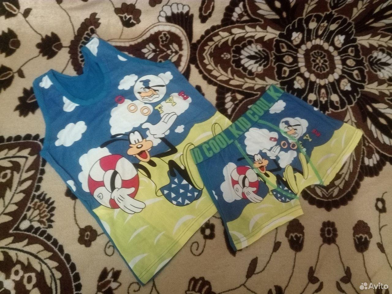 Комплект детский: майка+шортики  89787508651 купить 1
