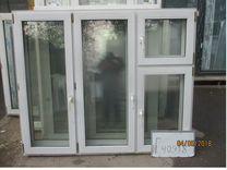 Окна Пластиковые Б У 1460 (в) х 1760 (ш) № 40918