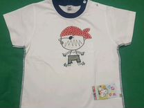 Новые шорты+футболка р.116
