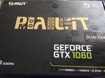 Видеокарта palit dual geforce GTX 1060 3Gb