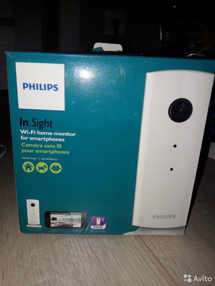 Ip camera Wi-Fi Philips M100E / видео няня
