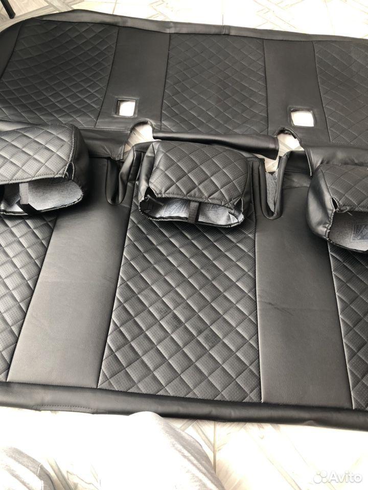 Чехлы «автопилот»Фольксваген каравелла т5т6,7 мест  89998680106 купить 1