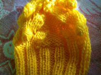 Конверт для новорождённого с шапочкой