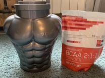 Протеин Beowulf Whey Pro и витамины bcaa 2:1:1