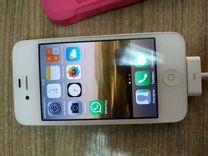 iPhone 4, White, 16GB — Телефоны в Екатеринбурге