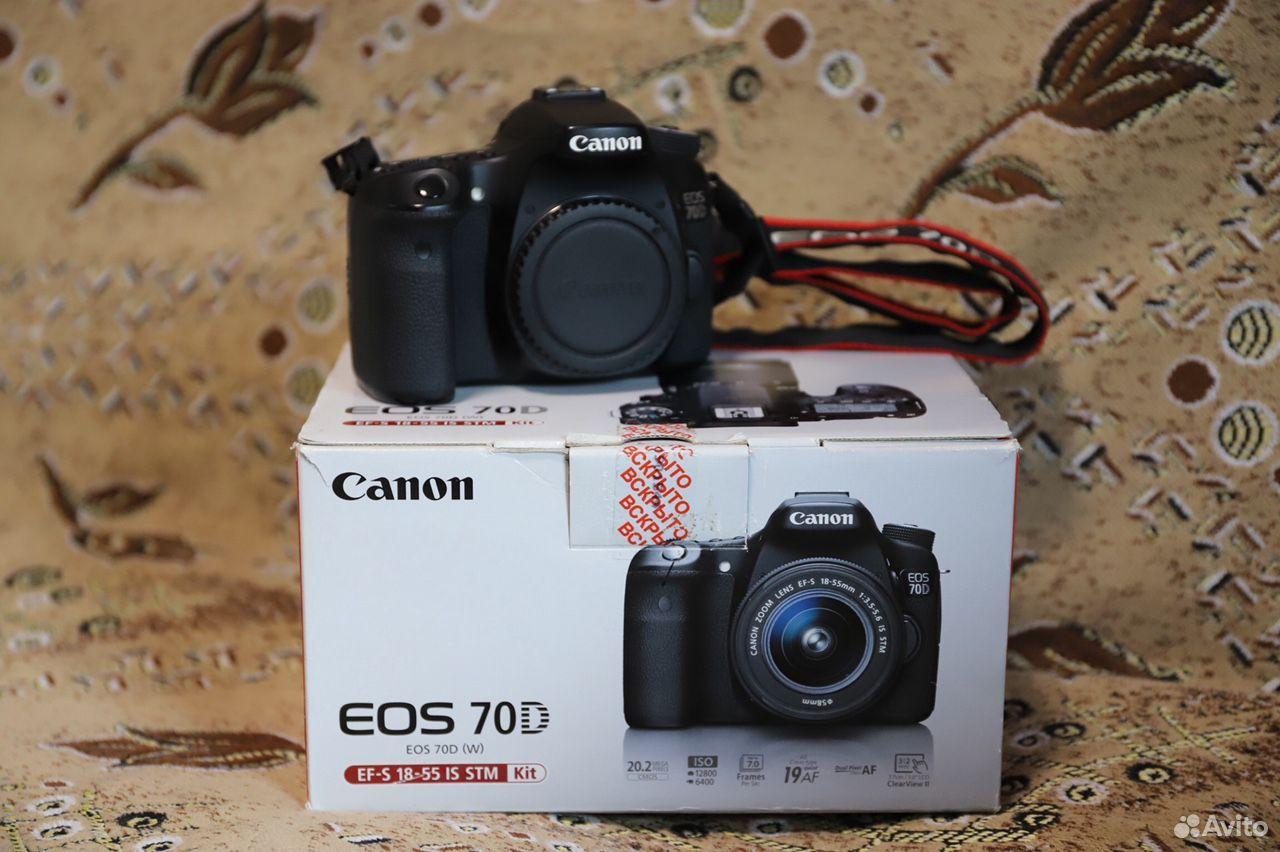 Продам canon 70D (body)  89995716629 купить 2